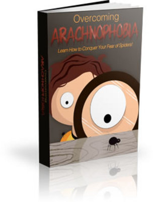 Product picture Overcoming Arachnophobia (eBook & Premade Site)