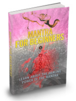 Product picture Mantra for Beginners plr