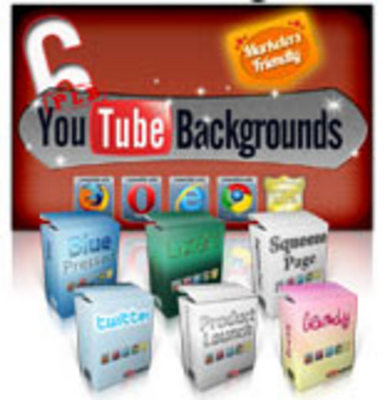 Product picture YouTube Backgrounds plr