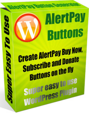 Product picture AlertPay Buttons Wordpress Plugin plr