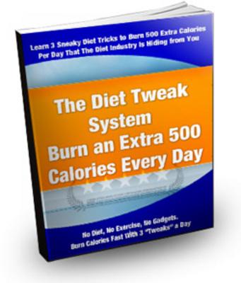 Product picture The Diet Tweak System plr