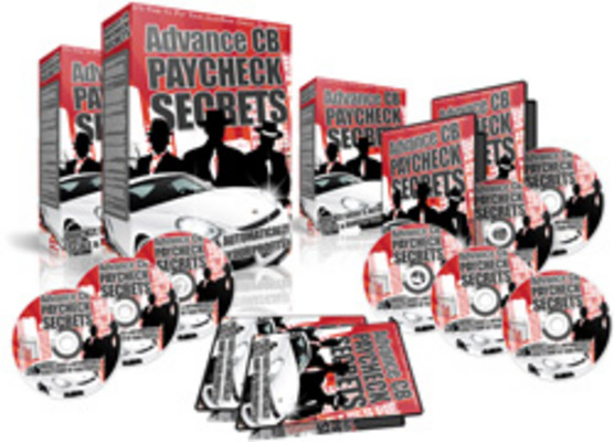 Product picture Advance CB Paycheck Secrets plr