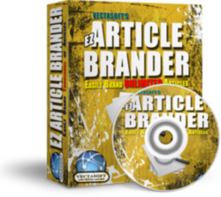Product picture EZ Article Brander plr