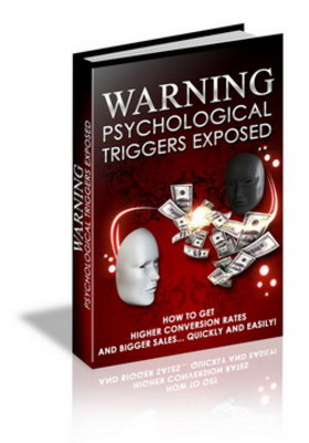 Product picture Warning Psychological Triggers Exposed plr