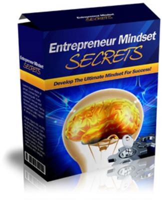 Product picture Entrepreneur Mindset Secrets plr
